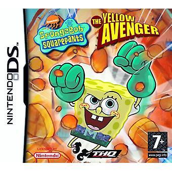 Spongebob Squarepants The Yellow Avenger (Nintendo DS) - Fabrik versiegelt