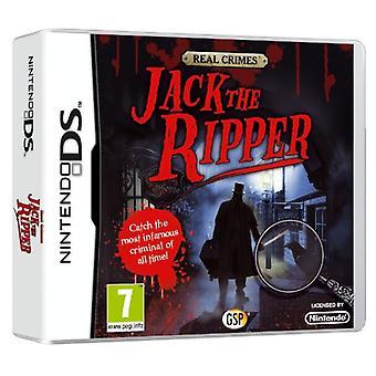 Real Crimes Jack the Ripper (Nintendo DS) - Neu