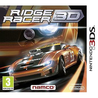 Ridge Racer 3D (Nintendo 3DS) - New