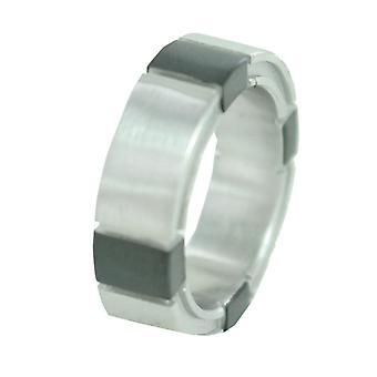 ESPRIT męskie pierścień ze stali nierdzewnej na krawędzi GR 19 ESRG11043A190