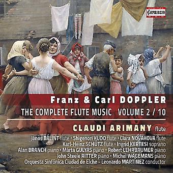 Doppler, F / Doppler, K / Martinez - Franz & Carl Doppler: Complete Flute [CD] USA import