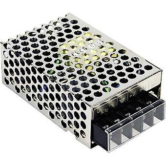 Keski arvo RS-25-12 AC/DC PSU-moduuli (+ kotelo) 2,1 A 25 W 12 V DC