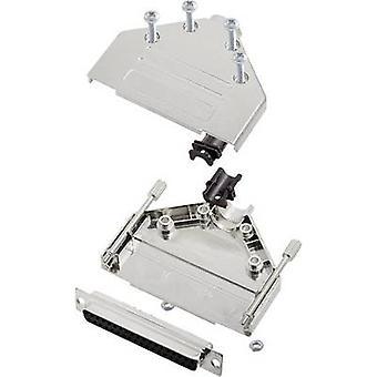 encitech DTPK-M-37-DBS-K 6355-0030-14 D-SUB receptacle set 180 ° Number of pins: 37 Solder bucket 1 Set