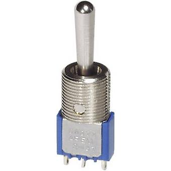 APEM 5647MA / 56470147 Toggle switch 250 V AC 3 A 2 x (On)/Off/(On) momentary/0/momentary 1 pc(s)