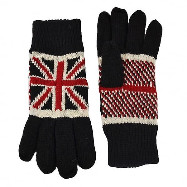 Union Jack Wear Union Jack Knitted Gloves