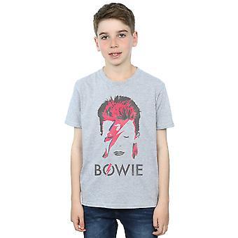 David Bowie Boys Aladdin Sane Distressed T-Shirt