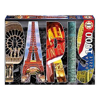 Educa Borras Paris Collage Jigsaw Puzzle 1000-Piece (16757)