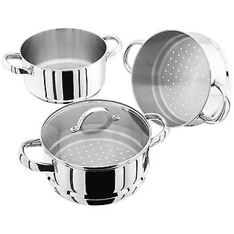 Judge Steamers, 20cm 3 Tier Steamer Set