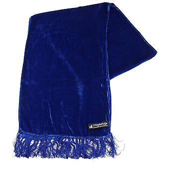 Knightsbridge Neckwear бархат шарф - Королевский синий