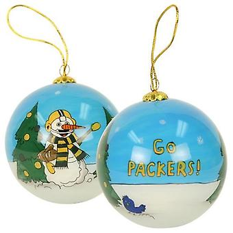 Green Bay Packers NFL Hand Painted Ornament