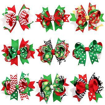 Rosetas festivas do Natal para as celebrações do Natal