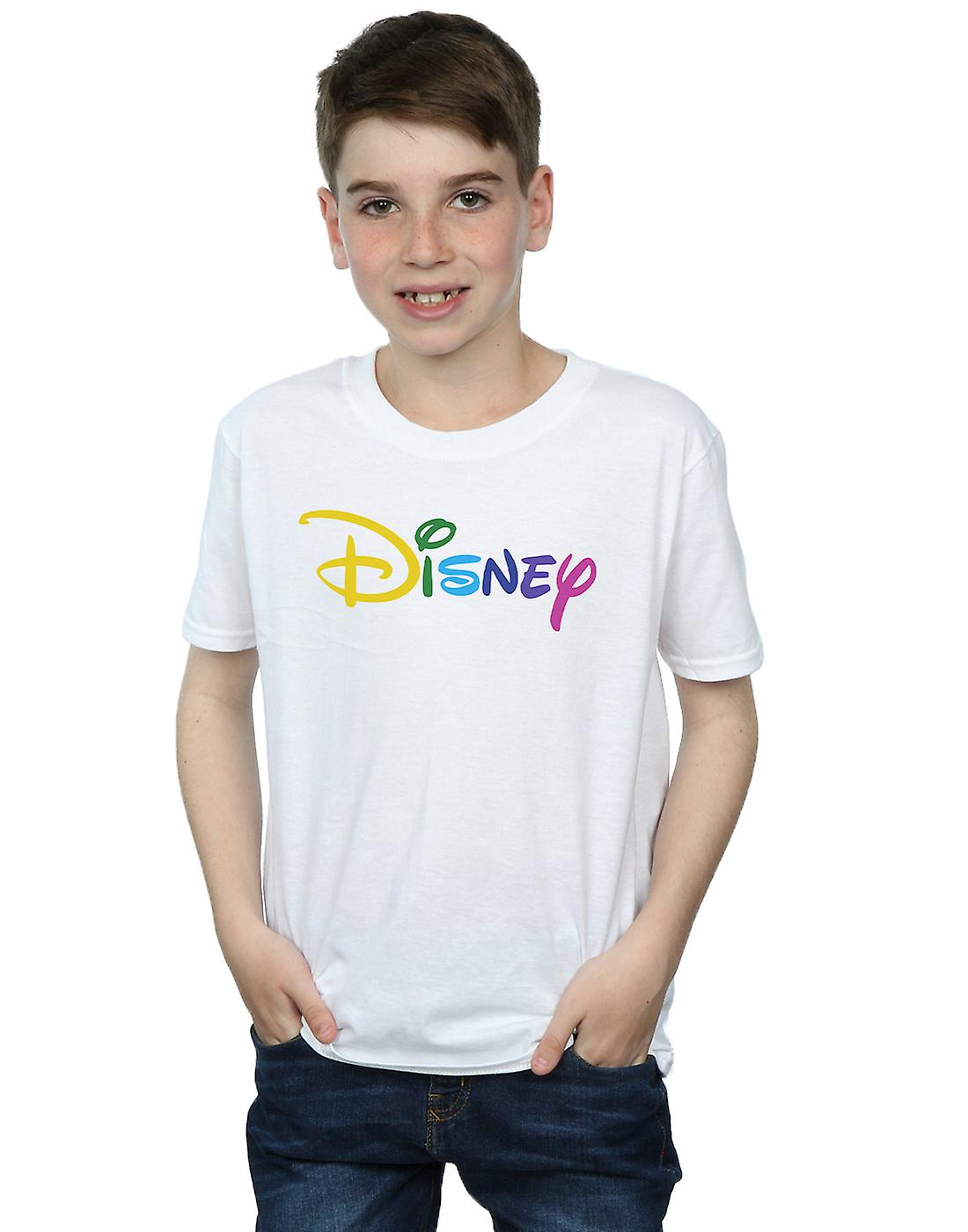Disney Boys Colour Logo T-Shirt