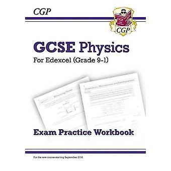 Ny karakter 9-1 GCSE fysikk - Edexcel eksamen praksis arbeidsboken ved CGP Boo