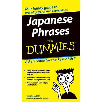 Japanese Phrases For Dummies by Eriko Sato - 9780764572050 Book