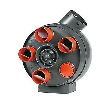 Unidad de ventilación continua centralizado VORT PENTA y Boz PENTA ES EP máximo. 380 m³/h IPX4