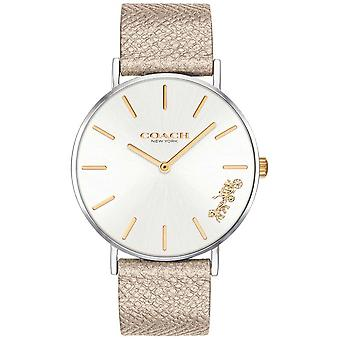 Coach | Womens Perry | Cream Strap | 14503157 Watch