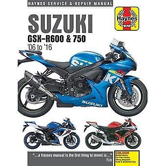 Suzuki GSX-R600 & 750 mise à jour