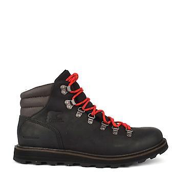 Sorel Men's Madson Black Leather Hiking Boot