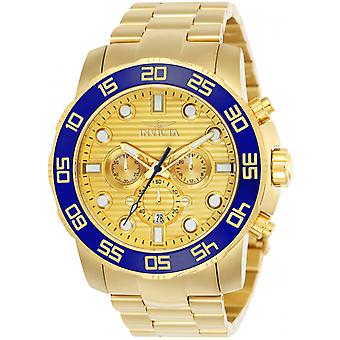 Invicta  Pro Diver 22227  Stainless Steel Chronograph  Watch