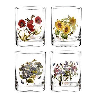 Portmeirion-Satz von 4 Botanic Garden Gläser