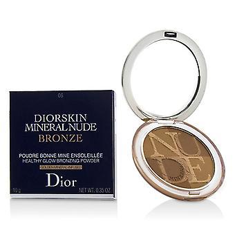 Christian Dior Diorskin Mineral desnuda bronce saludable resplandor bronceado en polvo - puesta del sol caliente # 06 - 10g/0,35 oz