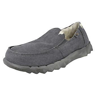 Mens Hey Dude Casual Slip On Shoes Farty Chalet
