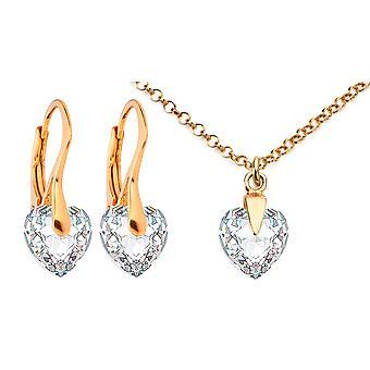 Ah! Jewellery Clear Heart Crystal From Swarovski