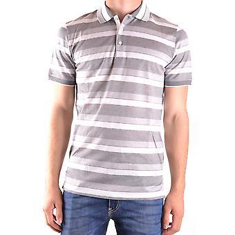 Dalmine Ezbc252004 Men's Grey Cotton Polo Shirt