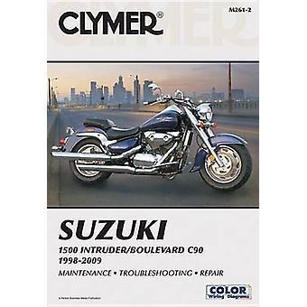 Clymer Suzuki 1500 Intruder/Boulevard C90 1998-2009 (2nd Revised edit