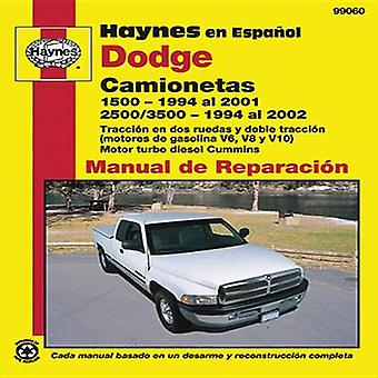 Dodge Camionetas Overhaul Manual by Haynes Publishing - 9781620920176