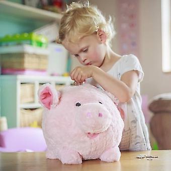 Cuddly Oinking Piggy Bank