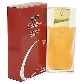 Must De Cartier By Cartier Eau De Toilette Spray 1.6 Oz (women) V728-418744