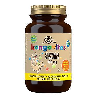 Solgar Kangavites Kaubares Vitamin C 100mg Tabletten 90 (2804)