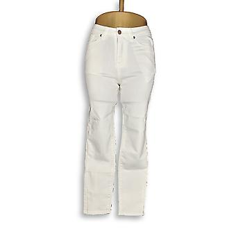 BROOKE SHIELDS Timeless Womens Petite Jeans Denim Slim White A311007 PTC