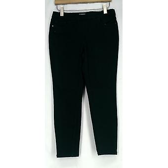 Denim & Co. Pull-On Stretchy Waist Legging Jeans Green A282558