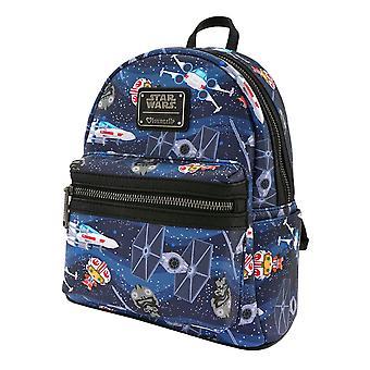 Star Wars Chibi X-Wing / TIE Fighter Mini Backpack