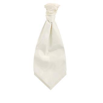 Dobell Ivory Dupion Cravat (pre-bunden & hand bunden)