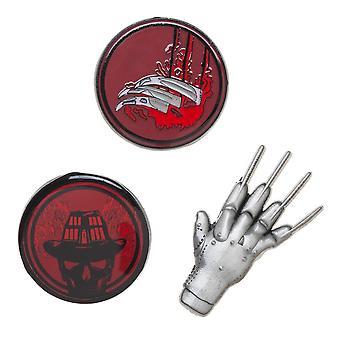 Pin Set - Nightmare on Elm Street - Lapel New lp7b9fnoe