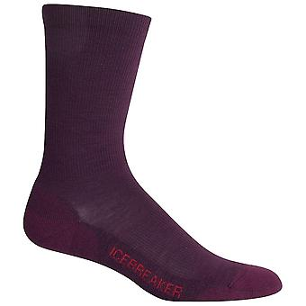 Icebreaker Velvet Womens Lifestyle Crew Light Sock