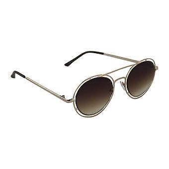 Sunglasses UV 400 Round gold BruinHL210_2