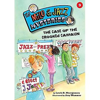 The Case of the Crooked Campaign (Milo & Jazz Mysteries