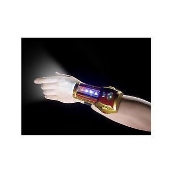 Supereroe lampeggiante braccialetto costume accessorio