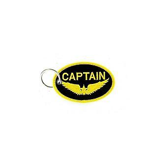 Cle Cles Key Brode Patch Ecusson Military Morale Captain Aviation R1