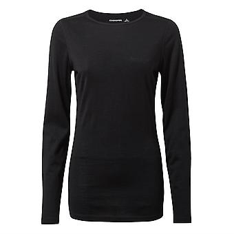 Craghoppers Womens Merino Crew Neck Ciepły Baselayer Shirt