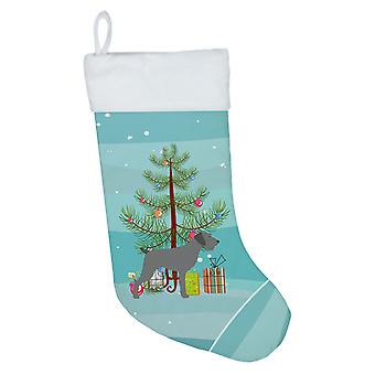German Wirehaired Pointer Merry Christmas Tree Christmas Stocking