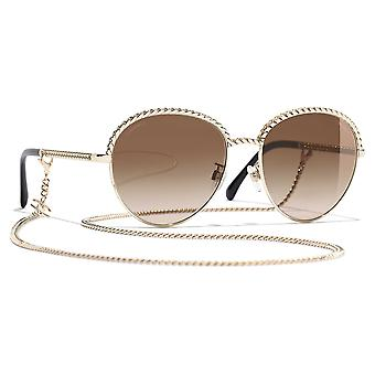 Gold/Brown CH4242C395S555 Sunglasses