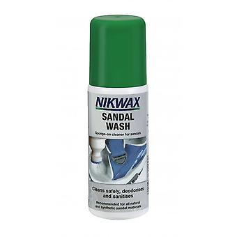 Nikwax Sandal Wash 125ml, Easy To Use Deodorising Cleaner For All Non Waterproof Footwear