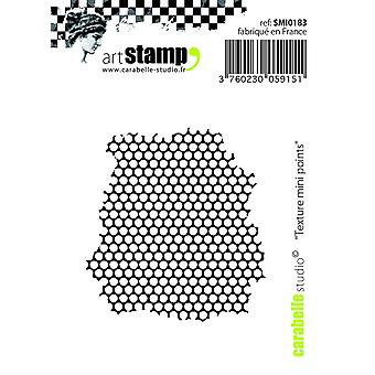 Carabelle студия «Текстуру малых точек» цепляться за штамп, белый/прозрачный, Mini