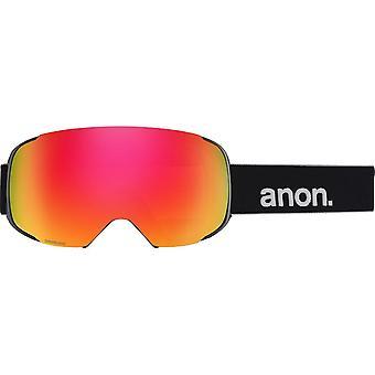 Anon M2 Nero - Sonar Rosso