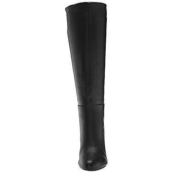 Aerosoles Womens Hashtag Leather Pointed Toe Knee High Fashion Boots